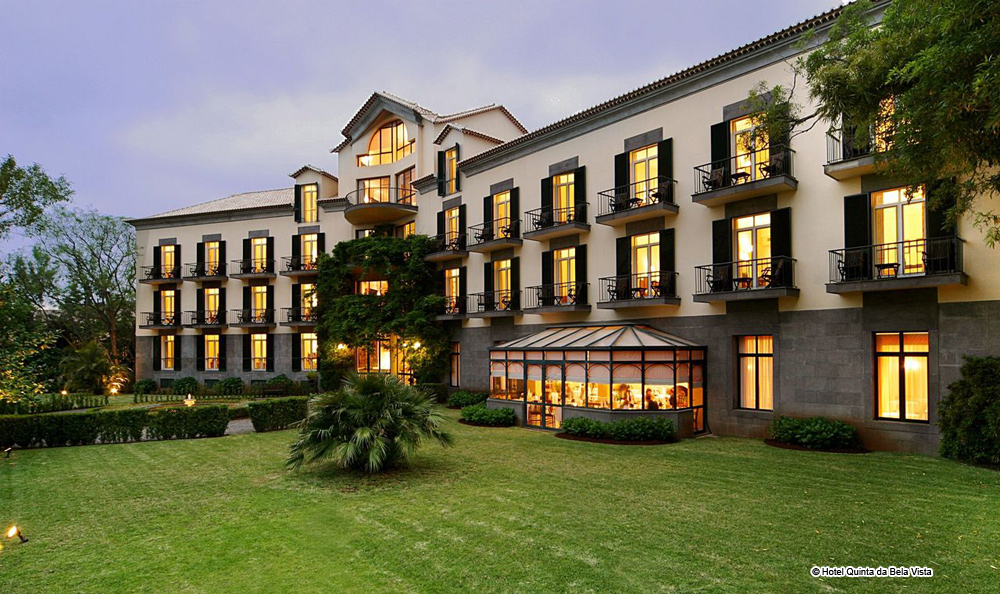 Hotel Quinta Da Bela Vista Madeira Funchal Luxushotel 5 Sterne Luxury Star Island Etoiles Ile